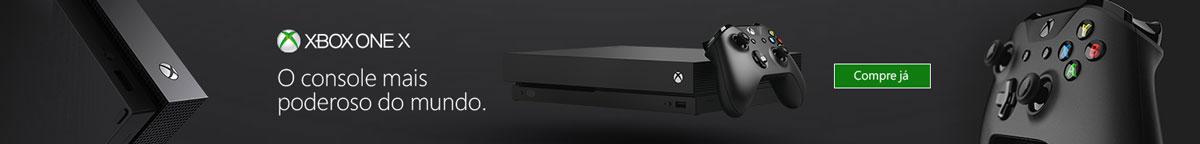 Xbox One X. Compre Já.