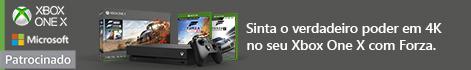 Sinta o verdadeiro poder em 4k no seu Xbox One X com Forza