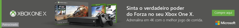 Sinta o verdadeiro poder de Forza no seu Xbox One X
