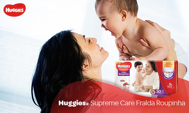 Huggies Supreme Care Fralda Roupinha