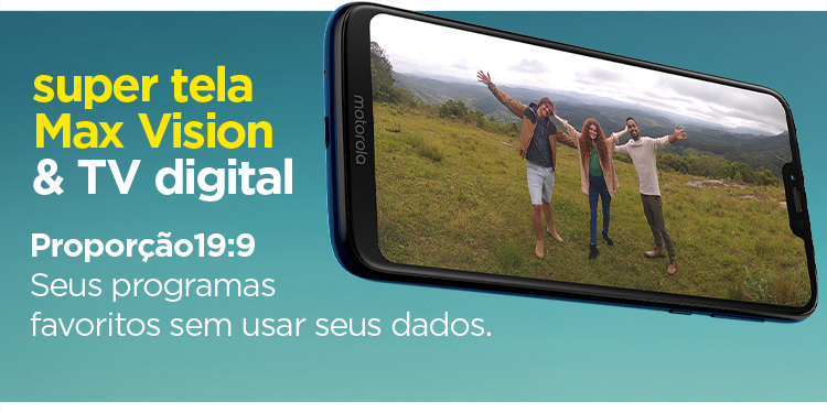 Super tela Max Vision & TV Digital