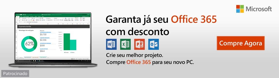 Garanta já o seu Office com desconto -Crie seu melhor projeto. Compre Office 365 para seu novo PC.