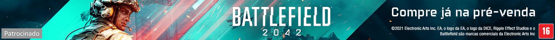 Battlefield 2042.  Patrocinado.