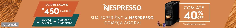 Nespresso. Patrocinado