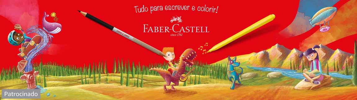 Faber-Castell. Tudo para escrever e colorir!