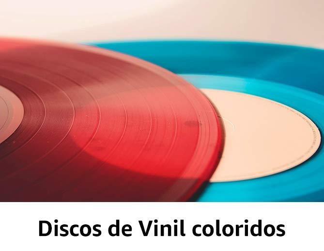 Discos de Vinil coloridos