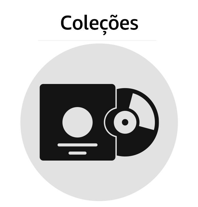 Caixas e Coleções