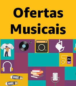 Ofertas Musicais: descontos que são música para os seus ouvidos