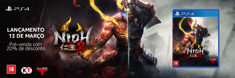 Pré-venda Nioh 2 - PlayStation 4