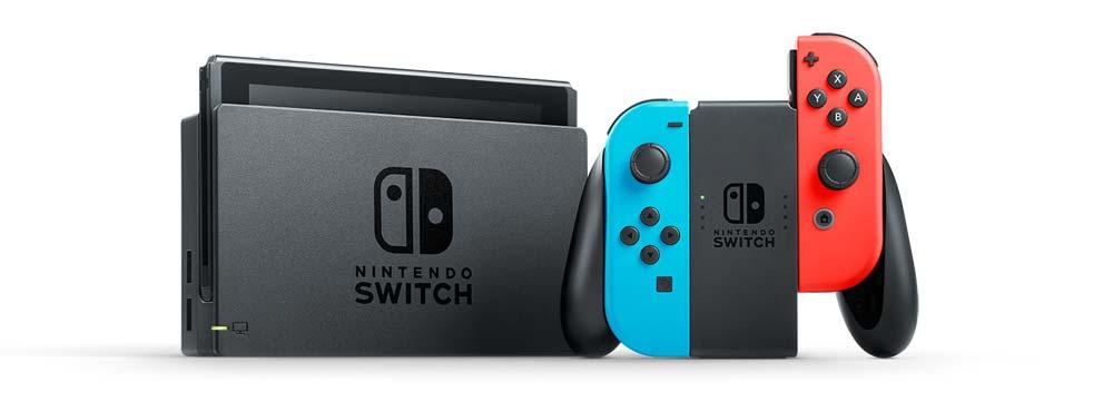 Console Nintendo Switch - Azul Neon e Vermelho Neon