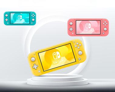 Lançamento da nova geração do Nintendo Switch Lite