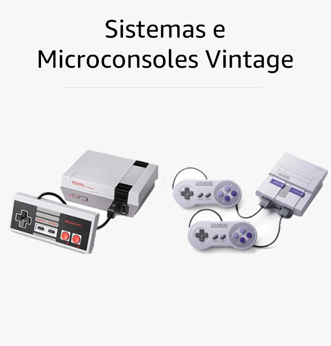 Sistemas e Microconsoles Vintage