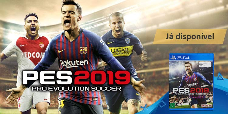 PES 2019 PlayStation 4