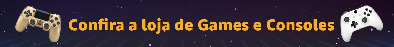 Confira a loja de Games e Consoles