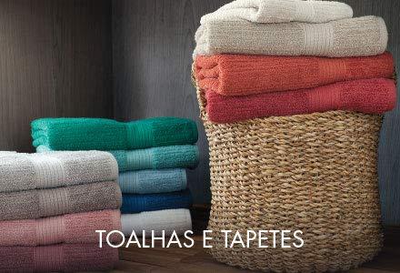 Toalhas e Tapetes