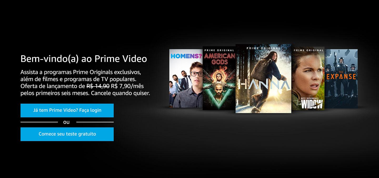Bem-vindo(a) ao Prime Video