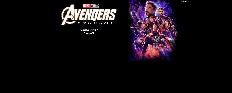 Avengers: Endgame. Assista agora. Prime Video.