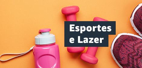 Até 20% off em Esportes e Lazer