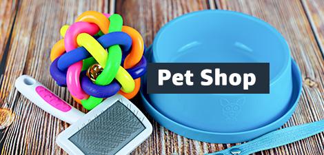 Até 35% off em Pet Shop