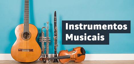 Até 30% off em Instrumentos Musicais