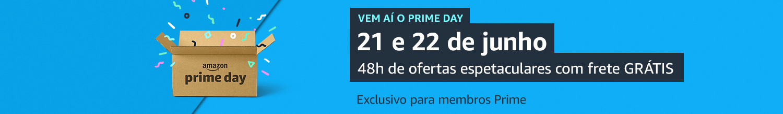 Vem aí o Prime Day 21 e 22 de junho