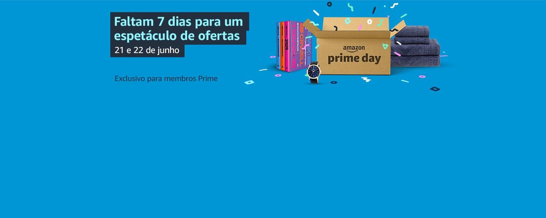 Faltam 7 dias para o Prime Day