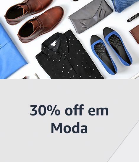 30% off em Moda
