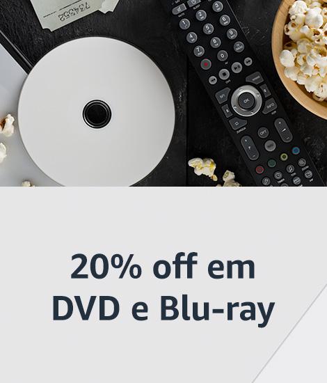 20% off em DVD e Blu-ray
