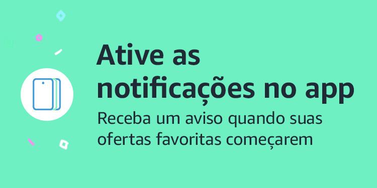 Ative notificações de ofertas no app