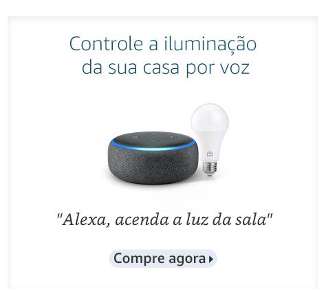 Controle por voz a iluminação da sua casa