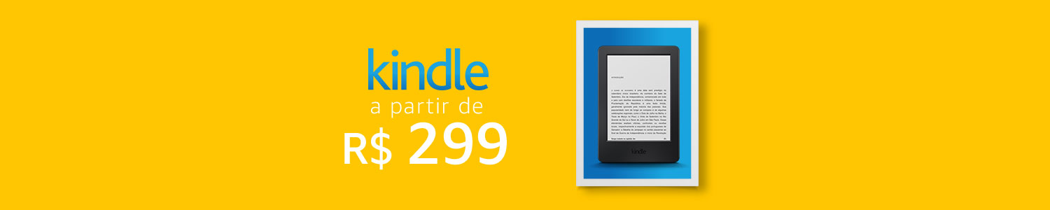 Kindle a paritr de R$299