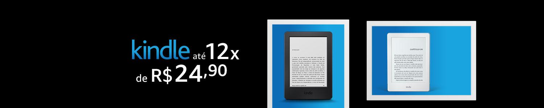 Kindle até 12 vezes de R$24,90