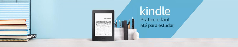 Kindle: prático até para estudar