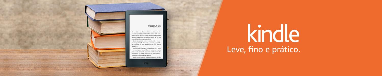 Kindle: leve, fino e prático