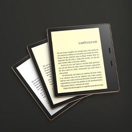 Novo Kindle Oasis: Agora com temperatura de luz ajustável