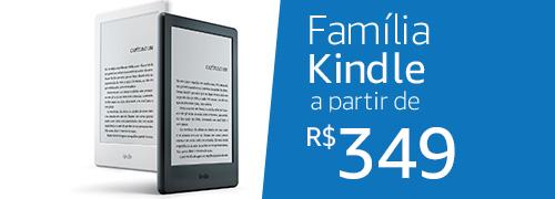 Família Kindle a partir de R$349
