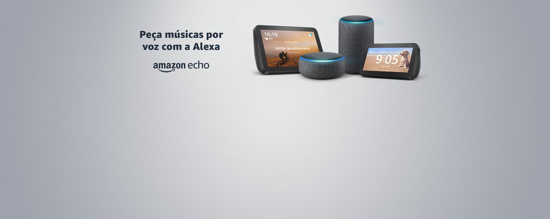 Amazon Echo: Peça músicas por voz com Alexa
