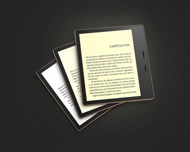 Kindle Oasis: maior e melhor resolução