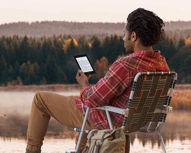 Kindle: leia confortavelmente