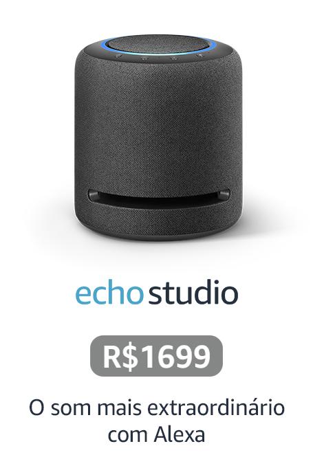 Echo Studio - O som mais extraordinário com Alexa