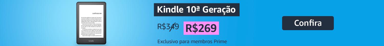 Kindle de R$349 por R$299