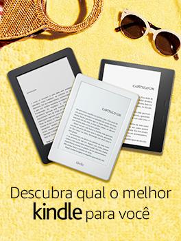 Descubra qual o melhor Kindle para você