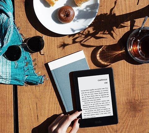 O Kindle foi feito para a leitura