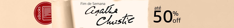 Fim de Semana Agatha Christie até 50% off