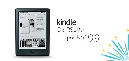 Kindle de R$299 por R$199