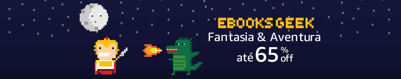 Ebooks de Fantasia e Aventura com até 65% off
