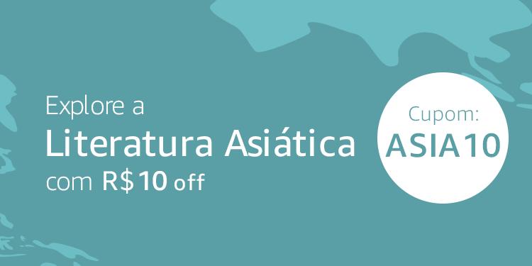 Literatura Asiática: cupom de R$10