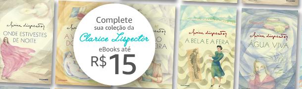 Clarice Lispector até R$15
