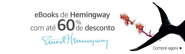 eBooks de Hemingway até 60% off