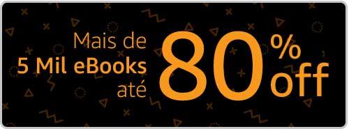 5 mil eBooks até 80% off